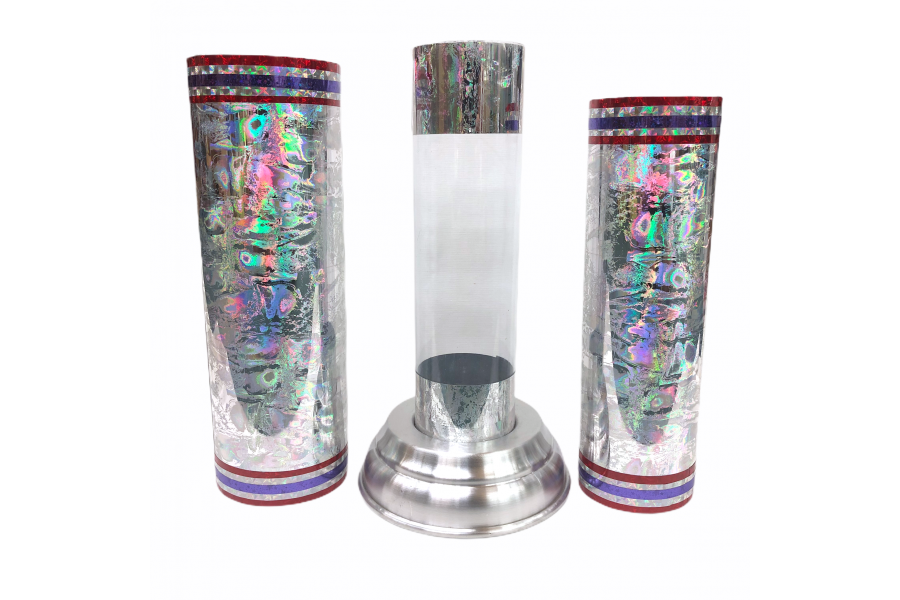 Crystal Silk Cylinder (colors vary)