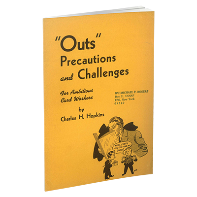 USED Outs, Precautions and Challenges for Ambitious Card Workers by Charles H. Hopkins