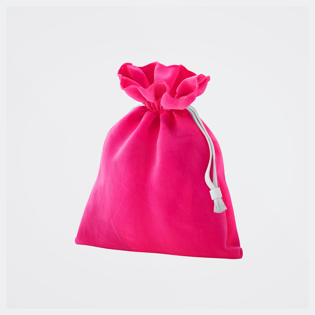 Hot Pink Mask Pouch