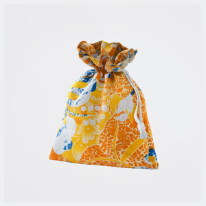 Orange Print Mask Pouch - Sold Out