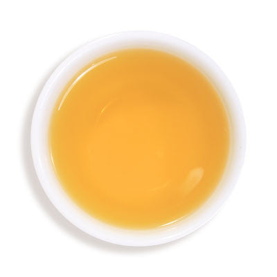 Brewed cup of Dazzling Ginger Black Tea