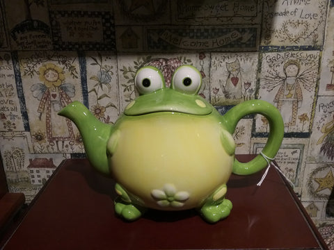 TEA POT TOBY TOAD