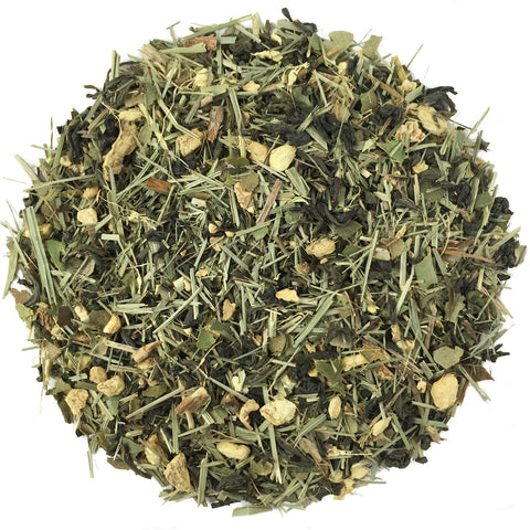 Lemon Ginger Snap Green Tea-Organic