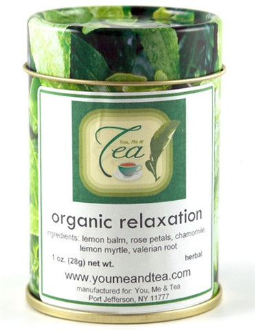 Organic Relaxation - 1oz Tin