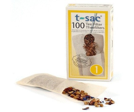 T-SAC #1 Paper Tea Filters (2-Cup Size)