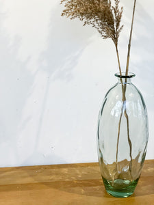 Glass Floor Vase