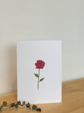 Load image into Gallery viewer, Rose Card