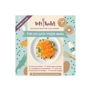 Tots Pantry Fish Pie with Veggie Mash Meal