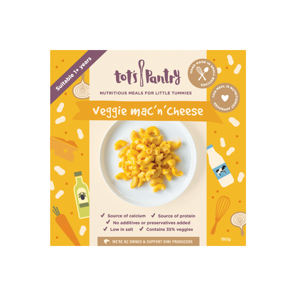 Tots Pantry Veggie Mac n Cheese