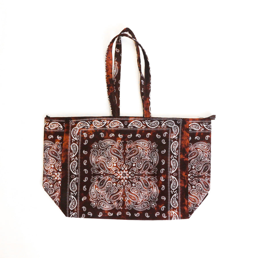 Acid Wash Oversized Tote