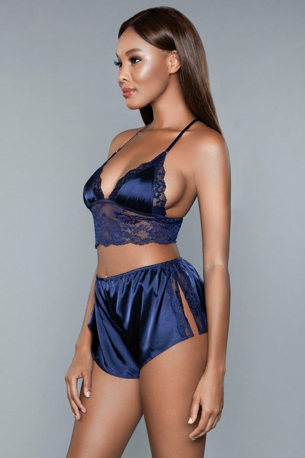 1963 Liliana Cami and Short Set Navy