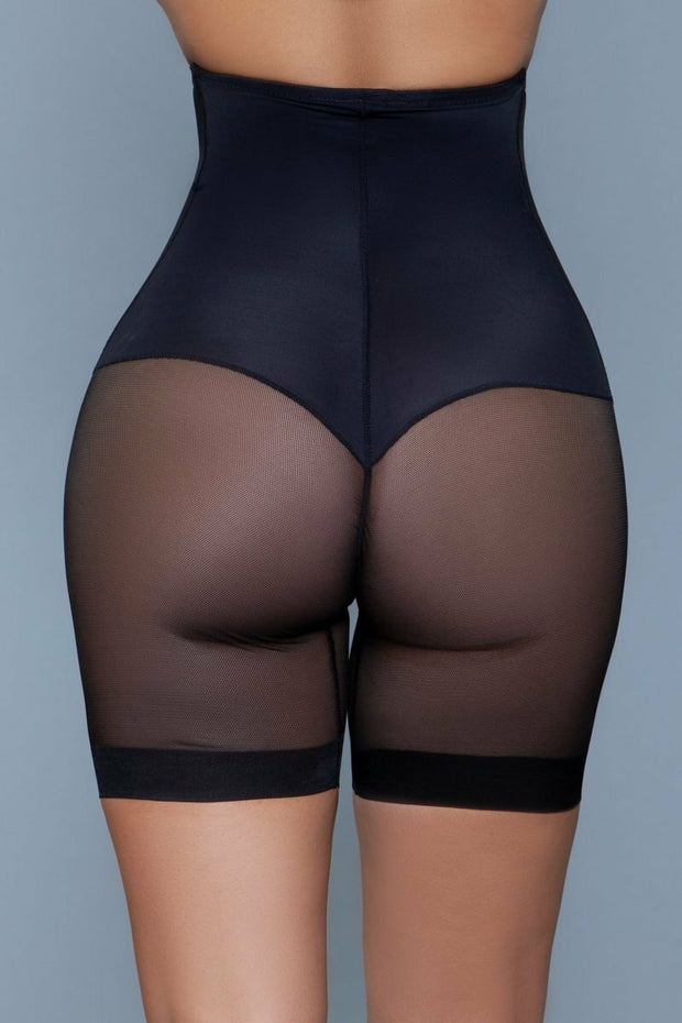 Body Shapewear High Waisted Tummy Control Shaper Shorts Black