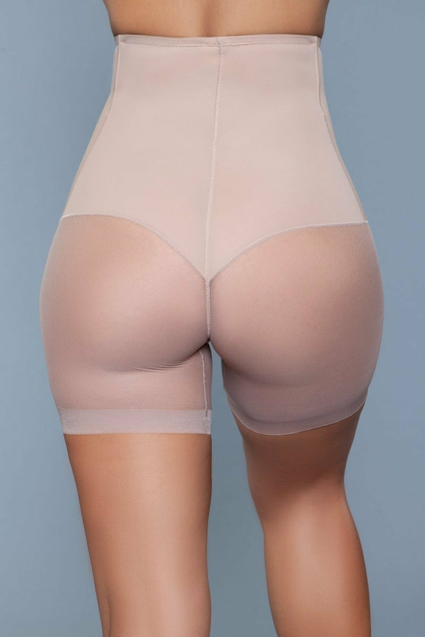 Body Shapewear High Waisted Tummy Control Shaper Shorts Nude