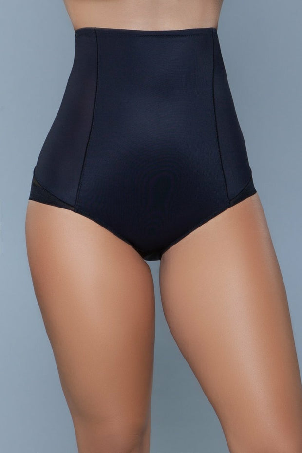 Black Girdle Body Shaper Panty High Waisted Shapewear