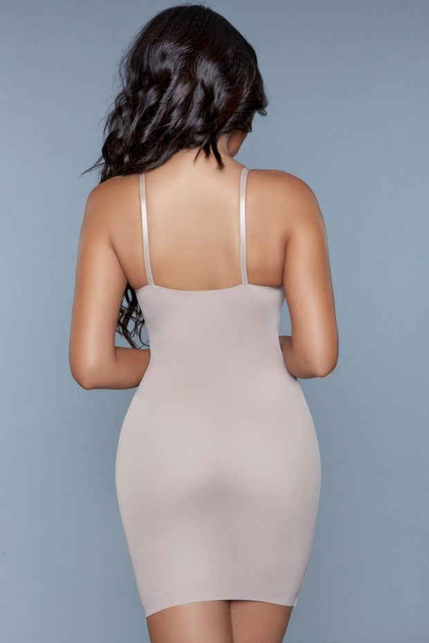 2009 Curved Craze Shapewear Dress Nude