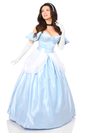 Top Drawer 6 PC Fairytale Princess Corset Costume