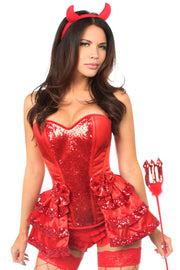 Top Drawer 5 PC Red Hot Devil Costume