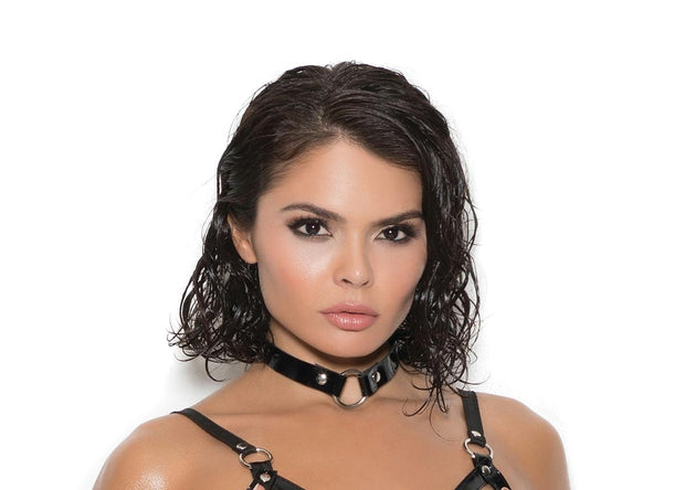 Vinyl Choker With O Ring