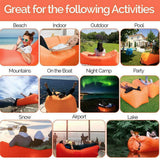 Jemyda Inflatable Lounger Air Sofa