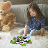Wooden Jigsaw Puzzles Set for Kids Age 2-5 Years Old