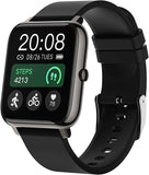 Smart Watch, Popglory Smartwatch with Blood Pressure, Blood Oxygen Monitor, Fitness Tracker with Heart Rate Monitor