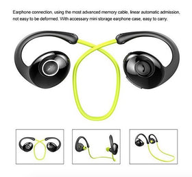 Wireless Bluetooth V4.0 Earbuds Stereo Headphones with Mic for Smartphones
