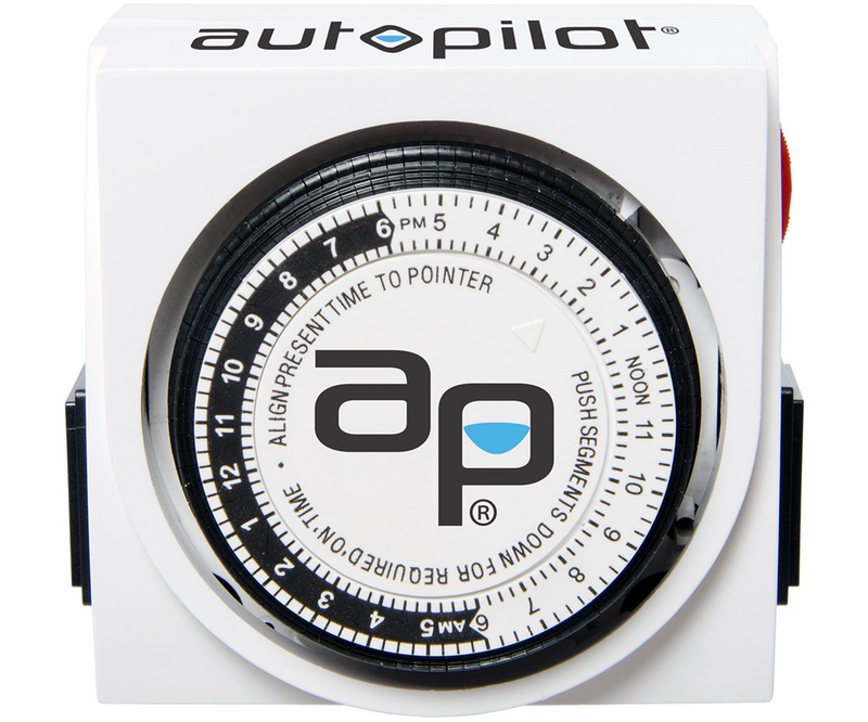 Autopilot Dual-Outlet Mechanical Timer