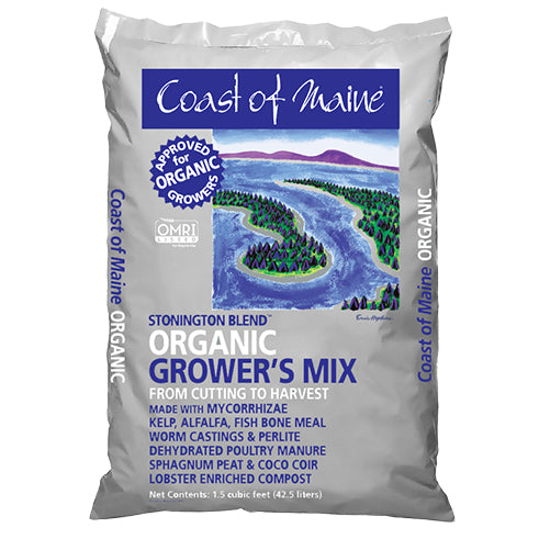 Coast of Maine Stonington Blend Organic Growers Mix - 1.5 cu ft