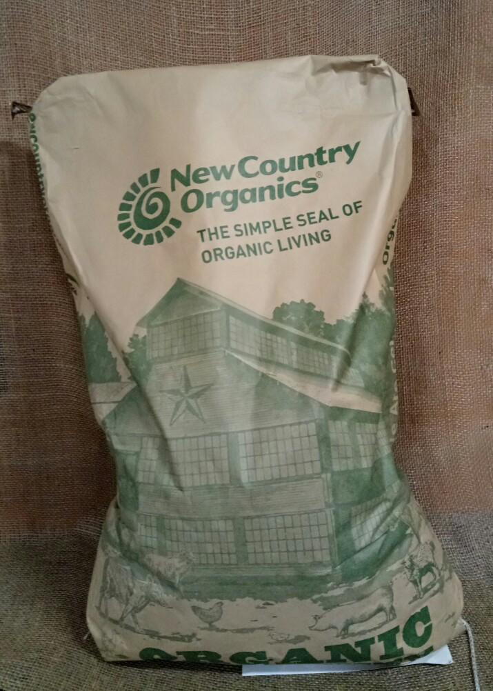 New Country: Chicken Feed-Layer-Soy Free-50 lb