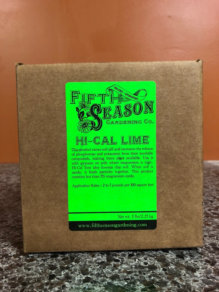 Fifth Season: Hi-Cal Lime-Pulverized-5 lb