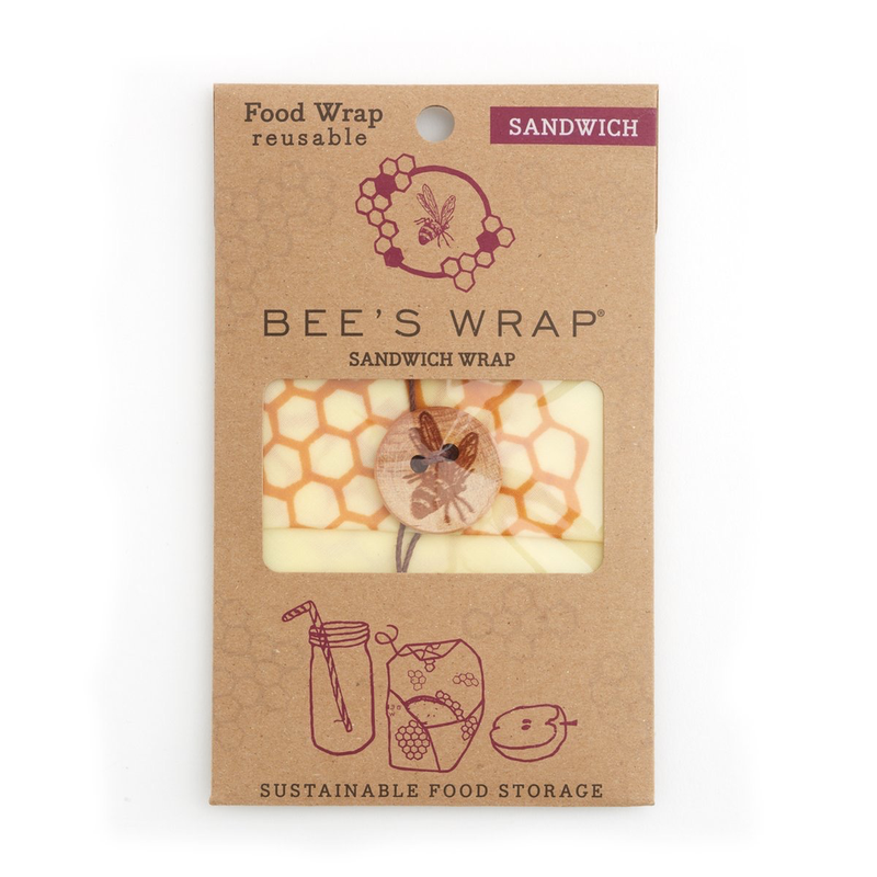 Bee's Wrap Sandwich Wrap - Honeycomb