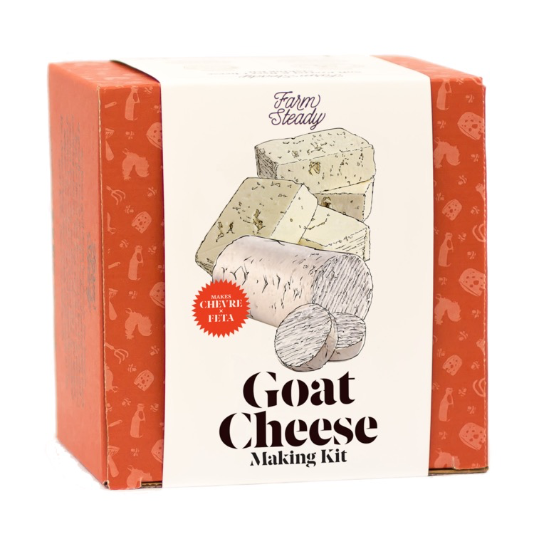 Farmsteady Goat Cheese Making Kit