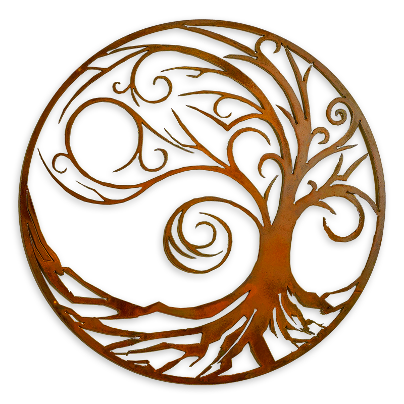Wave Tree of Life Wall Art