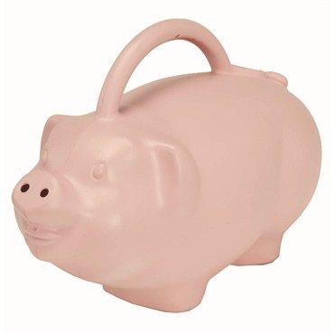 Novelty: Watering Can-Piggie