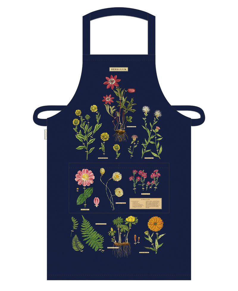 Herbarium Cotton Apron