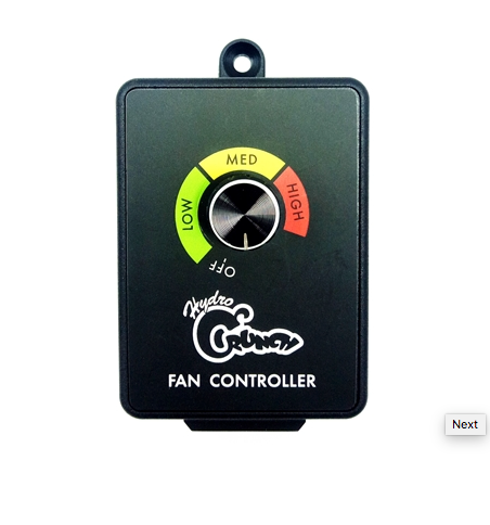 Hydro Crunch Fan Speed Controller