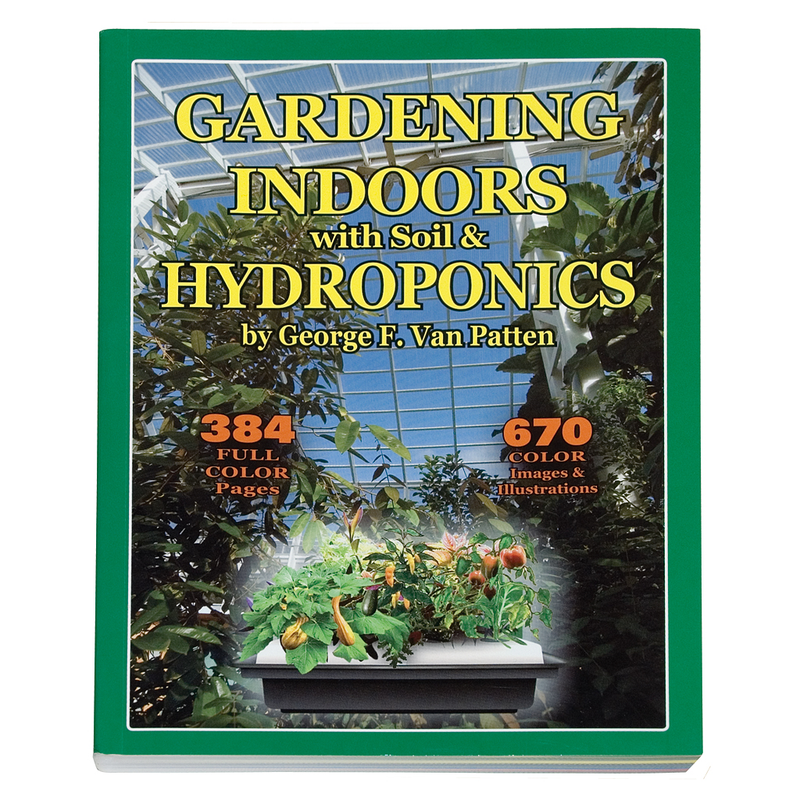 Gardening Indoors with Soil and Hydroponics-George Patten-pb