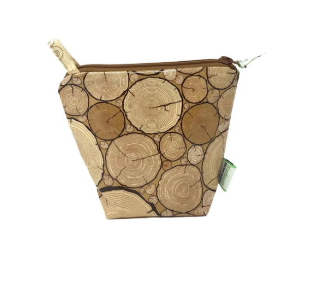 EcoBagIt! Zip Reusable Sandwich Bag - Wood