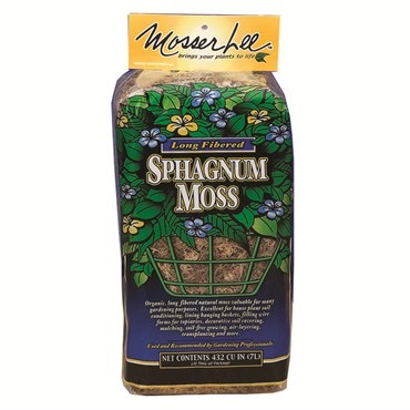 Mosser Lee: Sphagnum Fiber Moss-large-432 c/in