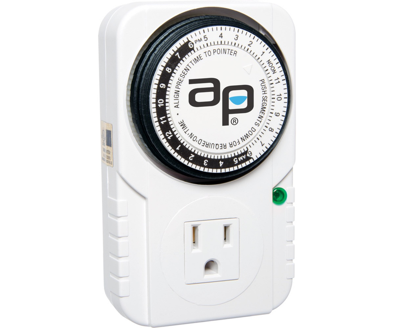 Autopilot Single Outlet Mechanical Timer