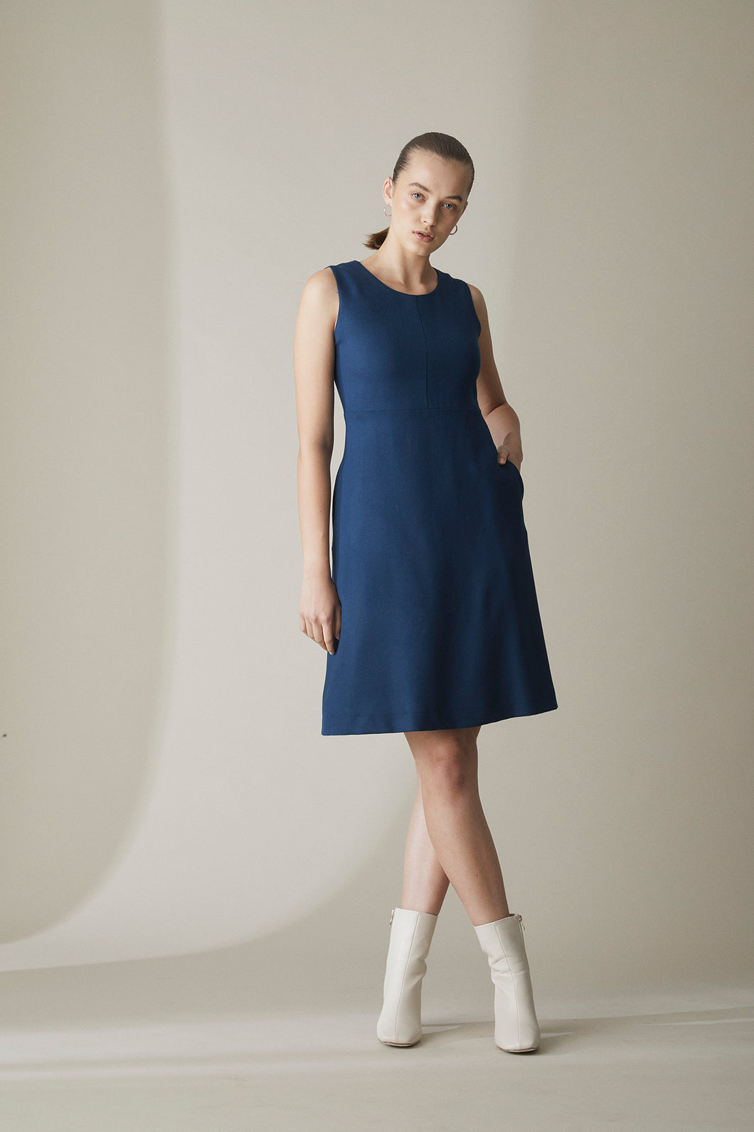 WILHELMINA WOOL DRESS