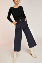 Load image into Gallery viewer, CANDICE CORD PANT-NAVY
