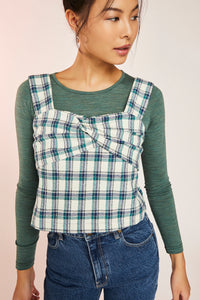 CHLOE TOP-GREEN