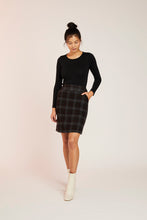 Load image into Gallery viewer, CLARA SKIRT-BLACK