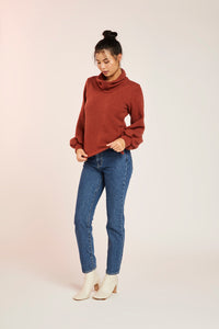 JOCELYN JUMPER-ORANGE