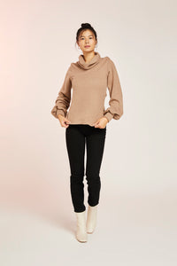 JOCELYN JUMPER-CAMEL