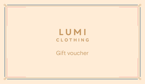Lumi Clothing Gift Card