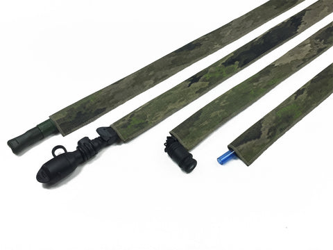 All Terrain Tiger Stripe Cordura Hydration Pack Drink Tube Cover