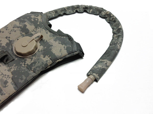 ACU ARMY Digital Hydration Pack w/ Drink Tube Cover. #HydrationTubeCovers #Hydrate
