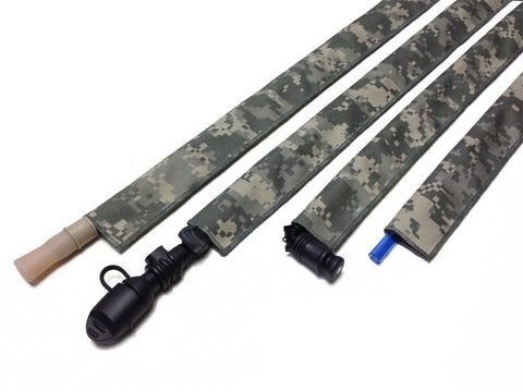 Urban Camo Cordura Hydration Pack Drink Tube Cover